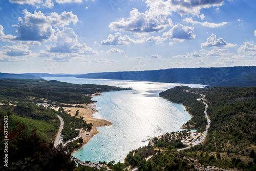 Verdon Gorge and St. Croix Lake, Provence