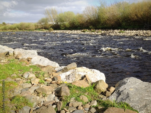 wild river in ireland