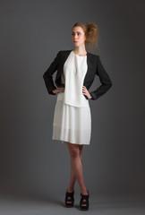 Girl and dress