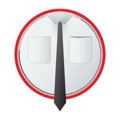 Znak koszula krawat