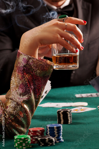Whiskey and gambling