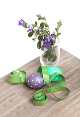 Preparing Easter decorations