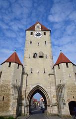 Das Ostentor in Regensburg
