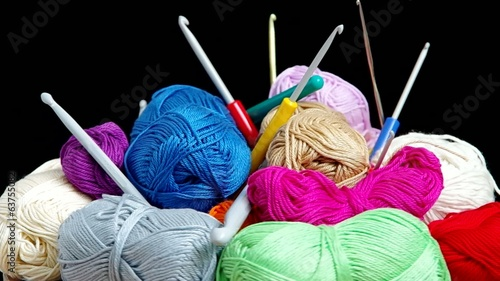 Yarn for crocheting