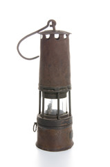 A miner's lamp