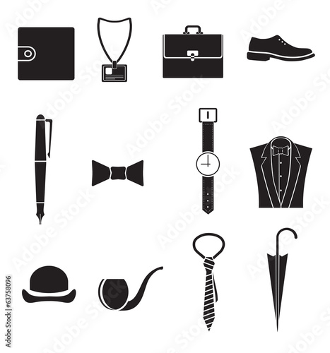 icons thing  businessman