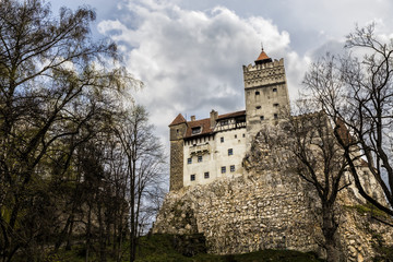 Bran Castle, known as Dracula's castle, in Romania