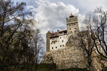 Bran Castle, known as Dracula's castle, in Romania