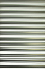Metal slat pattern