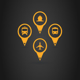 Transports Icons Placeholder poster