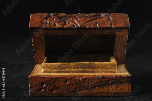 Handmade Ancient Vintage Wood Box