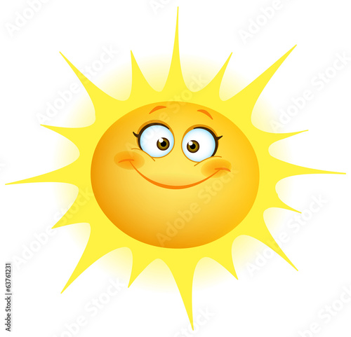 Cute sun - 63761231