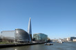 roleta: View from Tower Bridge of Shard and City Hall