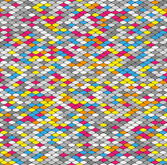 seamless geometric abstract pattern
