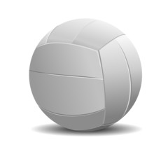 illustration of volleyball, isolated in white background.