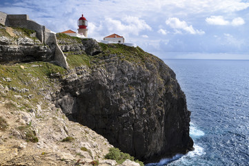 Algarve, Cape St Vincent: the lighthouse