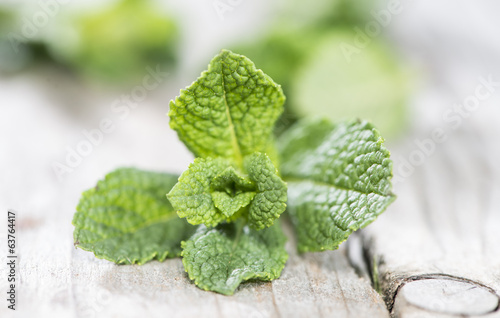 Fresh Mint (Macro shot)