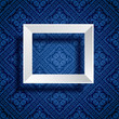 frame blue wallpaper