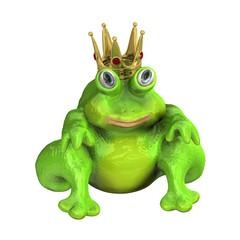 Froschkönig Krone 3d