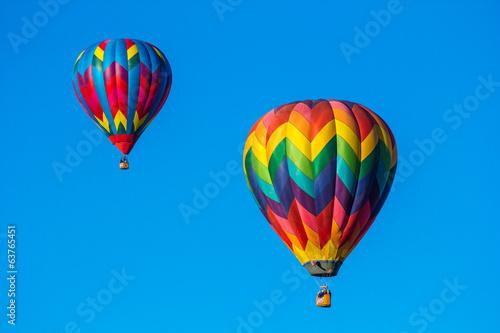 Deurstickers Luchtsport Hot air baloons