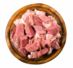 meat isolated with clipping path