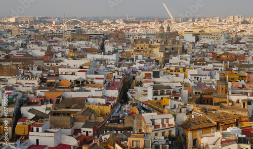 Roofs of Seville, Spain