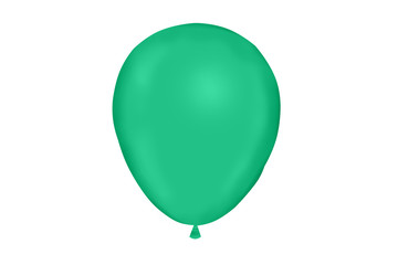 dark green ballon