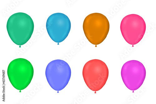 light Color ballons