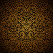 Vintage gold seamless pattern