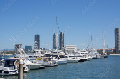 Marina at Surfers Paradise on Australia's Gold Coas