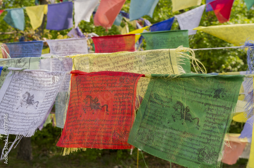 Tibetan Prayer Flegs.