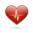 Heart beat rate icon - 63772005