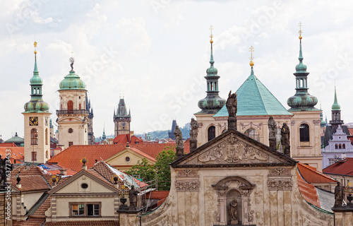 Ancient Prague architecture, Czech Republic