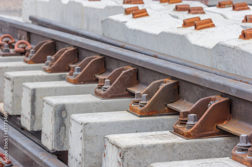Nuts and bolts of a railway