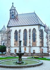 The Saint Michael Chapel  (Kosice, Slovakia).