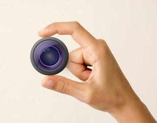 Lens Hand