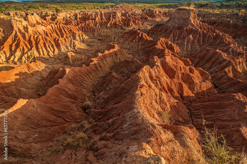 Tatacoa Desert Rock Formations