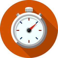 Stopwatch flat icon 2