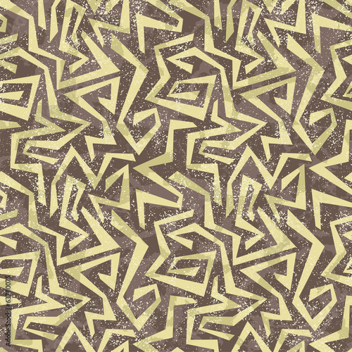 Absract graffiti seamless pattern. Vector