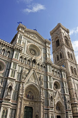 view of saint mary of the flower - florence