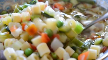 minestrone vegetale