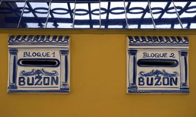 Spain Mailbox Buzon