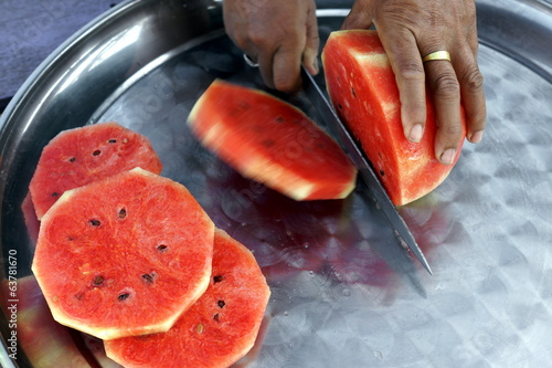 Cutting the Watermelon