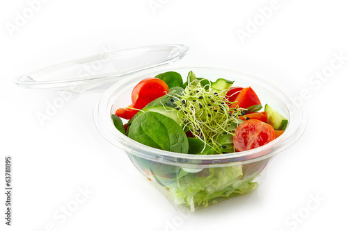 canvas print picture fresh vegetable salad