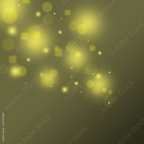 Brown gold bokeh