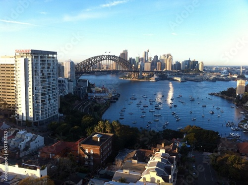Sydney Harbour from Lavender Bay