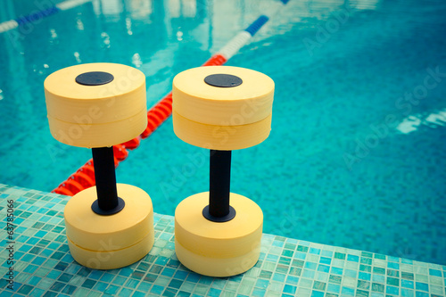 Dumbbells for Aqua Aerobics