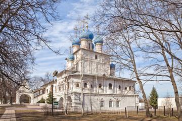 Усадьба Коломенское. Церковь Казанской иконы Божией матери
