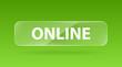 vector glass button online
