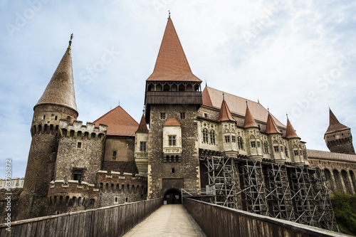 Hunyard Castle also known as Corvin Castle in Hunedoara Romania